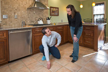 tile and grout cleaning by ServiceMaster DAK