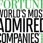 2016 List of World's Most Admired Companies