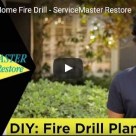 ServiceMaster Fire Safety Tips – Home Fire Drill