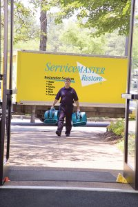 flood restoration - servicemaster