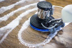hardwood cleaning by ServiceMaster DAK