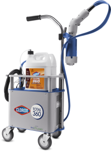 ServiceMaster DAK uses the Clorox Total 360 disinfection system - ServiceMaster Restore