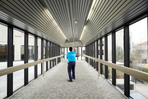 Commercial cleaning services by Servicemaster DAK - cleaning ceilings