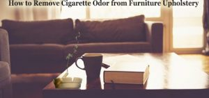 removing odor from furniture